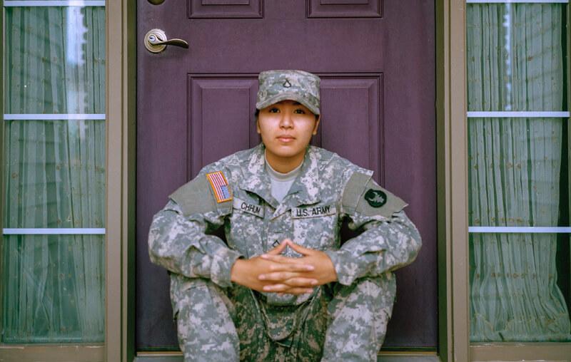 A Veteran thinking about VA education benefits.
